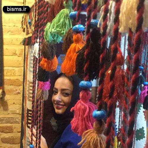 عکس جدید و زیبا نفیسه روشن در شیراز