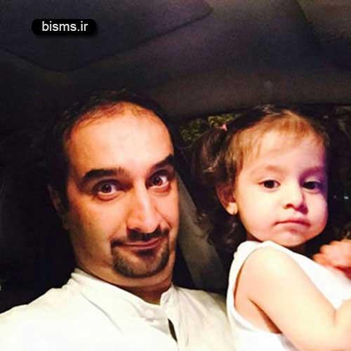 عکس جدید و دیده نشده نیما کرمی و همسرش