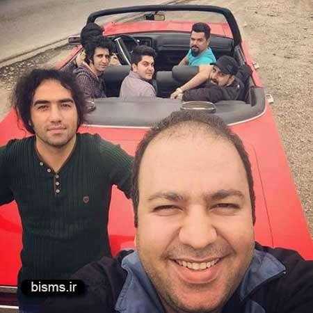 عکس دیده نشده علی اوجی و مهران غفوریان