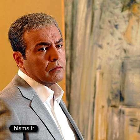 عکس دیدنی و جالب فریبرز عرب نیا و پسرش