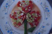 تزیین سالاد شیرازی به شکل های بسیار زیبا و جدید