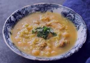 روش تهیه ژل لاغری فلفل سوپ نخود.آموزش و طرز تهیه سوپ نخود رستورانی خیلی خوش طعم