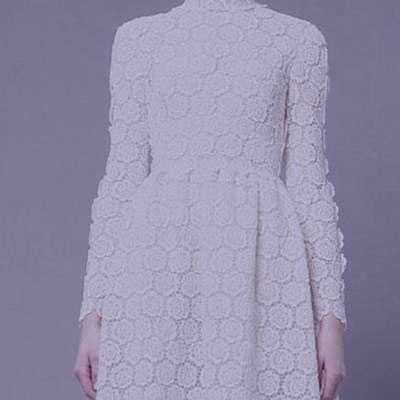 شعر در مورد لباس سفید