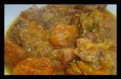آموزش پخت و طرز تهیه خورشت آلو بخارا با مرغ با گوشت