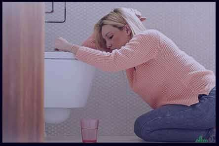 یبوست و حالت تهوع ، درمان یبوست و حالت تهوع ، یبوست حالت تهوع ، یبوست باعث حالت تهوع میشود
