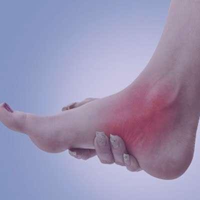 درد قوزک پا