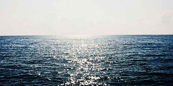 متن در مورد دریا
