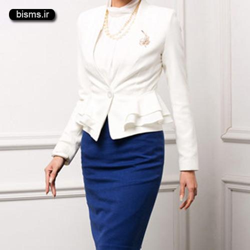مدل کت و دامن های شیک و زیبا