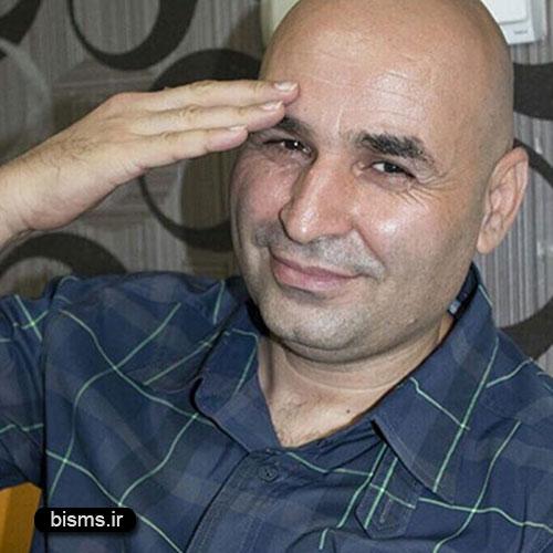 عکس جدید و دیده نشده علی مسعودی در حرم امام رضا