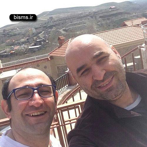 عکس قدیمی و جالب علی مسعودی و رضا عطاران