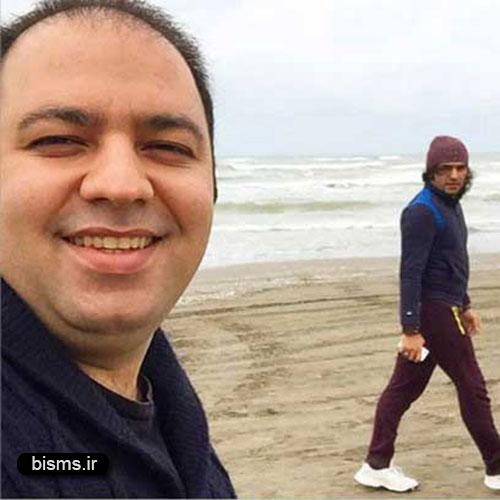 عکس دیده نشده و جالب علی اوجی و کوروش تهامی