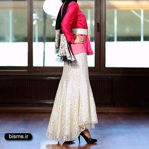 مدل لباس مجلسی و شیک پوشیده