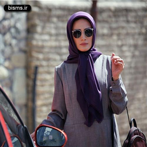 عکس مینا ساداتی در افتتاحیه فیلم ماهی سیاه کوچولو
