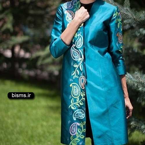 عکس مدل مانتو های شیک و زیبا