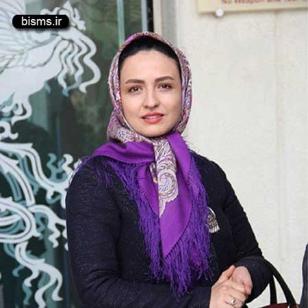 عکس گلاره عباسی در نشست خبری سریال شهرزاد