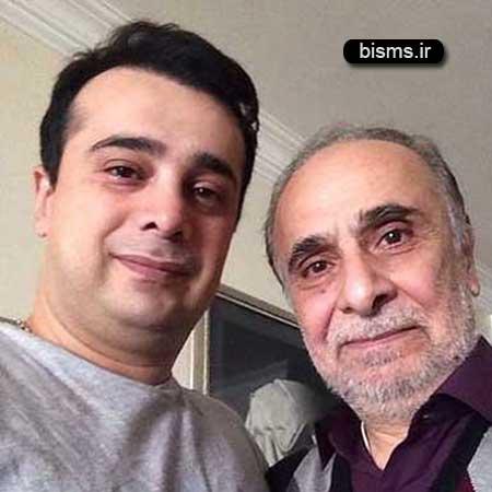 عکس جدید و دیدنی سعید امیرسلیمانی و همسرش