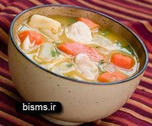سوپ جوجه دارویی برای درمان سرماخوردگی