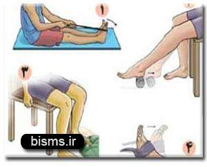 حركاتی برای رفع درد قوس كف پا