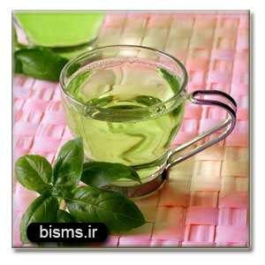چای سبز علیه آب سیاه چشم