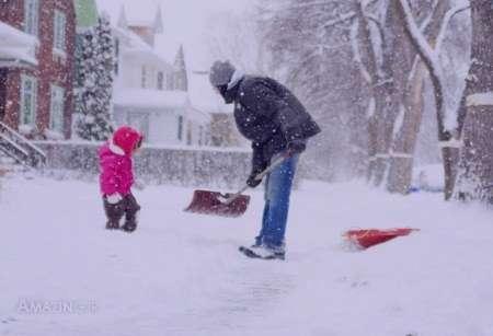 مجموعه کامل عکس های عاشقانه برفی در روزهای سرد زمستانی