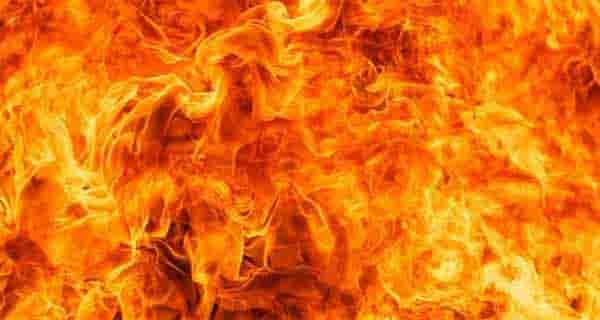 شعر در مورد آتش