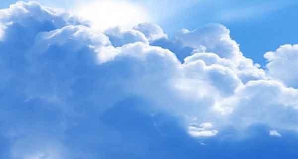 شعر در مورد ابر