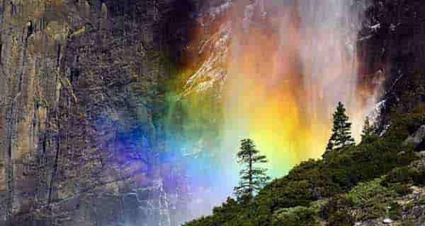 شعر در مورد رنگین کمان