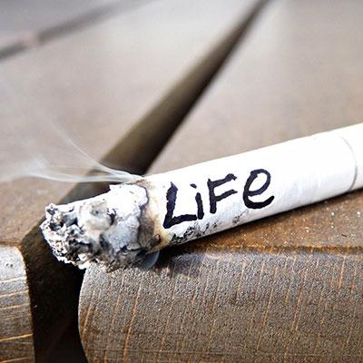 شعر در مورد سیگار