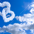 دانلود عکس آسمان آبی شب ابری پر ستاره بارانی با کیفیت بالا برای پروفایل