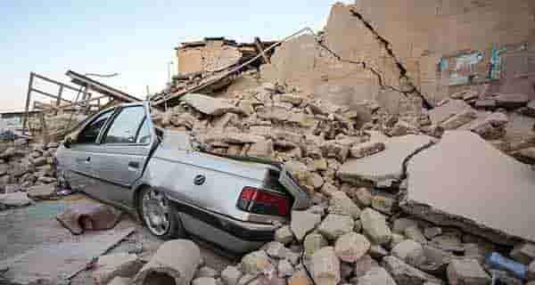 شعر در مورد زلزله