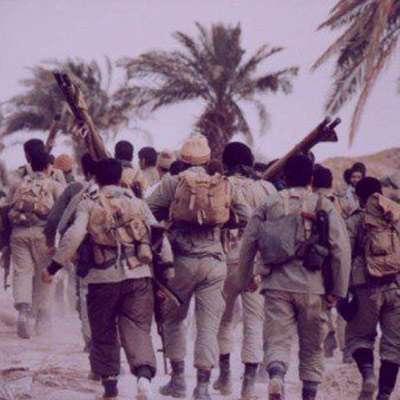 شعر در مورد جبهه و جنگ