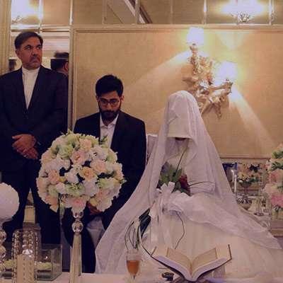 شعر در مورد جشن عروسی