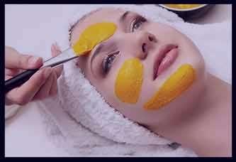 خواص زردچوبه برای پوست صورت ، فواید زردچوبه برای پوست صورت ، فواید ماسک زردچوبه برای پوست صورت