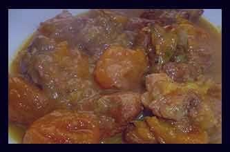 خورشت آلو بخارا ، خورشت آلو بخارا با مرغ ، خورشت آلو بخارا با گوشت ، خورشت آلو بخارا با گوشت قرمز