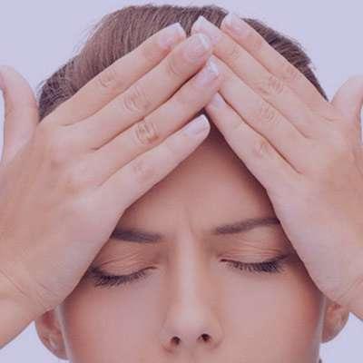 سردرد پیشانی