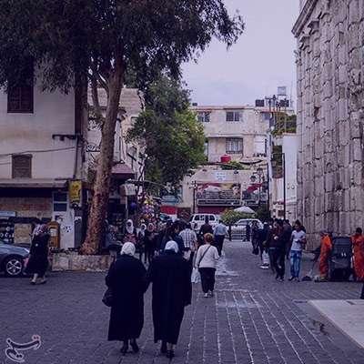 شعر در مورد دمشق