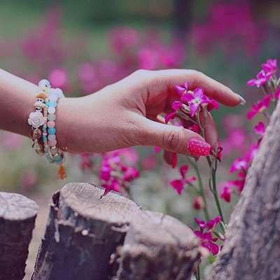 شعر در مورد چیدن گل