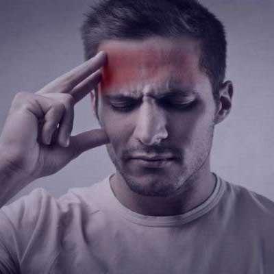 درد جلوی سر