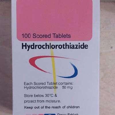 قرص هیدروکلروتیازید