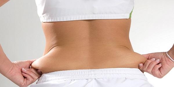 لاغری شکم و پهلو بدون ورزش