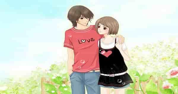 عکس های کارتونی عاشقانه برای پروفایل , دانلود عکس کارتونی عاشقانه برای پروفایل , عکس عاشقانه کارتونی دونفره پروفایل