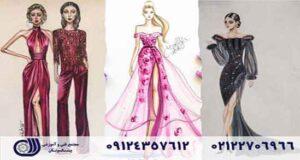 مراحل آموزش طراحی لباس در مجتمع فنی و آموزشی پیشکسوتان